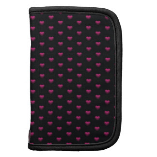 Strawberry Hearts Mini Folio Organizer