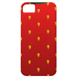 Strawberry iPhone 5/5S, Barely There iPhone 5 Covers