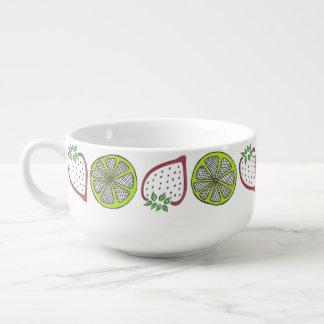Strawberry Lime Soup Mug