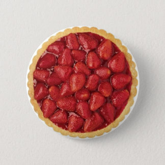 Strawberry Pie 6 Cm Round Badge