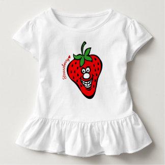 Strawberry *Ruffle Tee