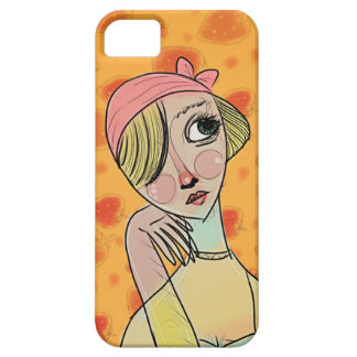 Strawberry Scarlet Barely There iPhone 5 Case