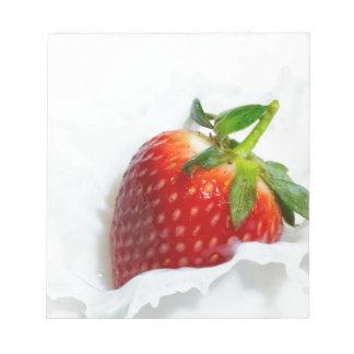 Strawberry Splash Notepad