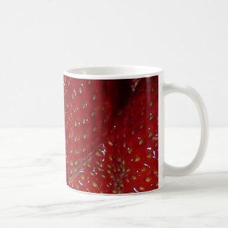 Strawberry Themed Classic White Mug
