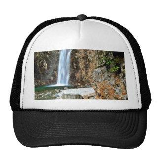 Stream Waterfall Into Pool Cap