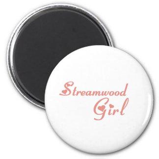 Streamwood Girl tee shirts Magnets