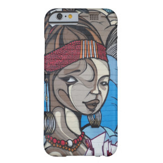 Street Art Girl Barely There iPhone 6 Case