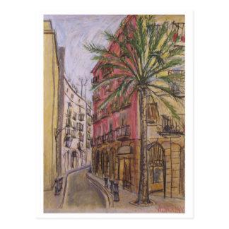 Street Barcelona Postcard