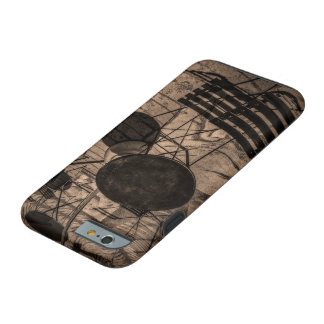 street cafe abstract tough iPhone 6 case