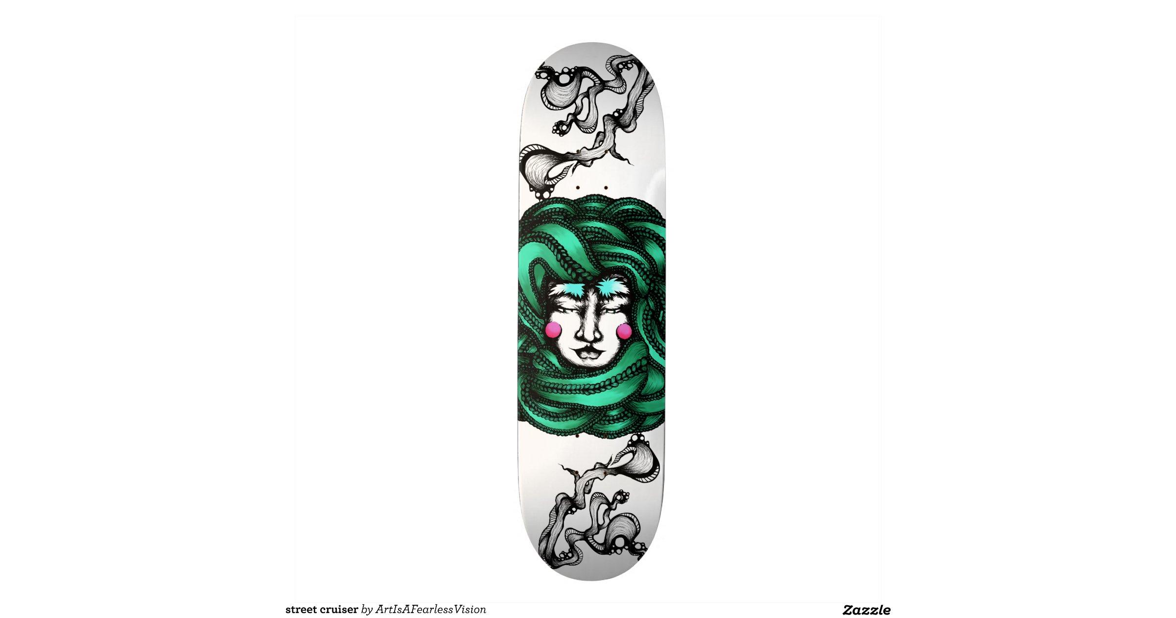 Street Cruiser Skateboard Decks Zazzle
