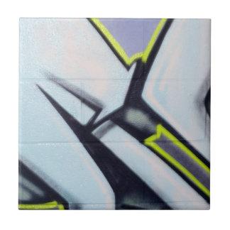 Street Graffiti Arrows Small Square Tile