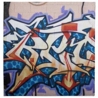 Street Graffiti Art Napkin