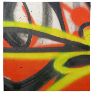 Street Graffiti Napkin