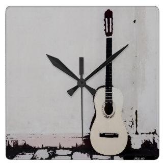"""Street Guitar"" Wall Clock"