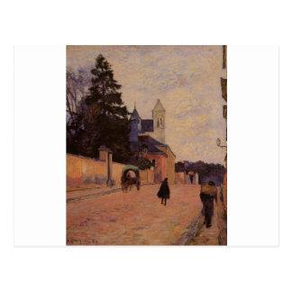 Street in Rouen by Paul Gauguin Postcard