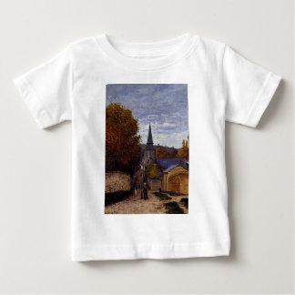 Street in Saint-Adresse by Claude Monet Baby T-Shirt