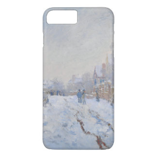 Street in the Snow Argenteuil by Claude Monet iPhone 8 Plus/7 Plus Case