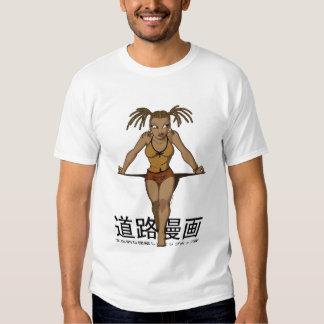Street Manga - Anime Box Braids T-shirt
