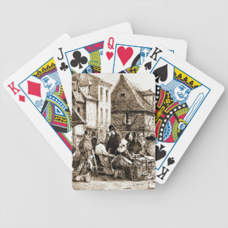 Street Market 1820 Playing Cards