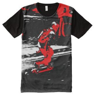 Street Skater  -  Skateboarder All-Over Print T-Shirt