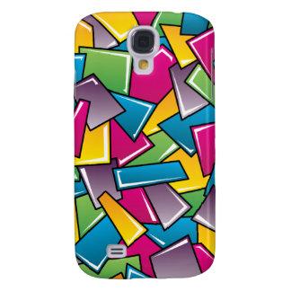 Street Squares Galaxy S4 Case