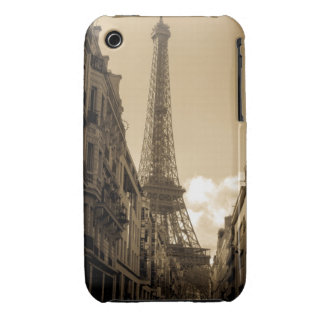 Street View of the Eiffel Tower iPhone3G/3Gs case iPhone 3 Case-Mate Case