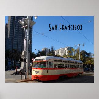 Streetcar- San Francisco Poster