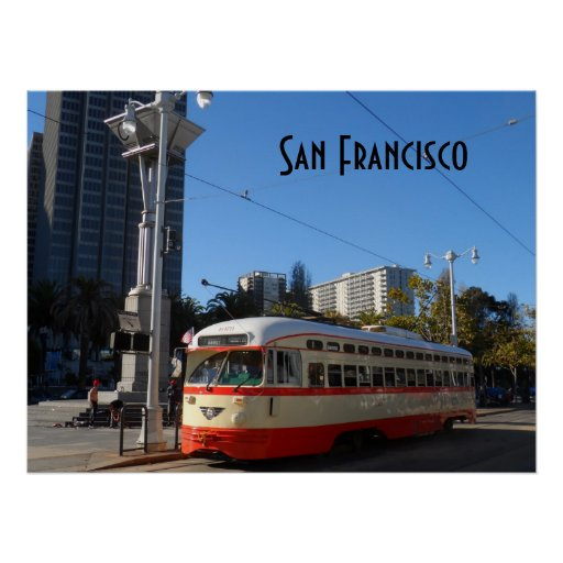 Streetcar- San Francisco Posters