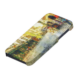 Streets of Old Prague watercolor iPhone 5 Cover