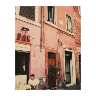 Streets of Rome Wood Wall Decor