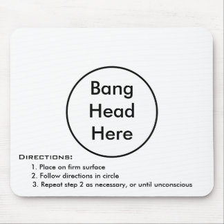 Stress Reliever Mouse Pad