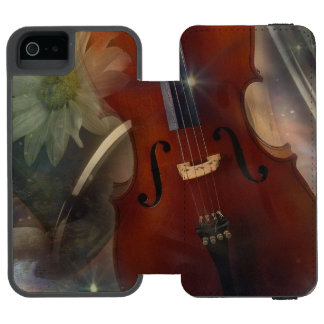 Strike a Chord with this Beautiful Musical Design Incipio Watson™ iPhone 5 Wallet Case