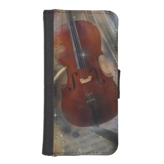 Strike a Chord with this Beautiful Musical Design iPhone SE/5/5s Wallet Case