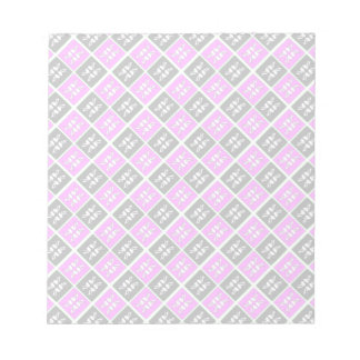 Striking Cyan & Pink abstract Design Memo Note Pads
