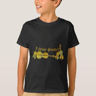 String Quartet in Gold T-Shirt