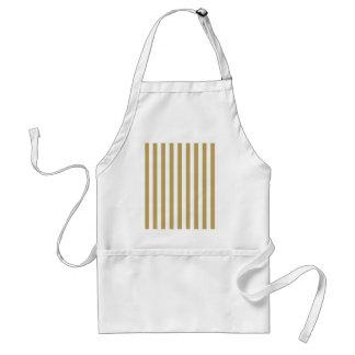 stripe&beige standard apron
