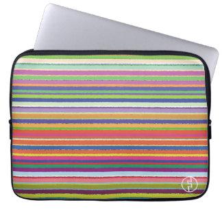Stripe Laptop Computer Sleeve