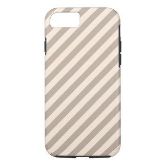 Stripe Pattern in Neutral Colors . iPhone 8/7 Case