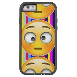 Striped Emoji Protective Case