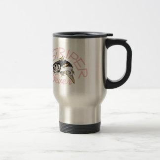 Striper Fever Stainless Steel Travel Mug