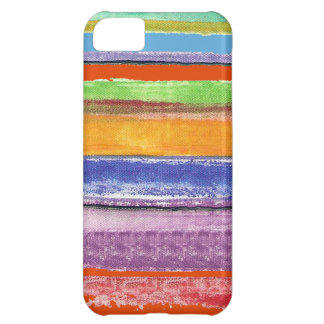 stripes and colors iPhone 5C case