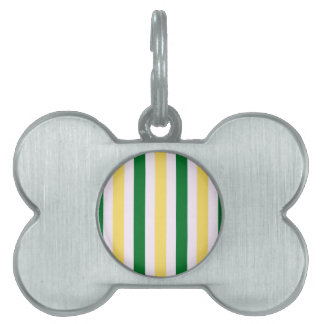 Stripes Fun Pet Name Tag