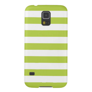Stripes Galaxy S5 Case in Tender Shoots Green