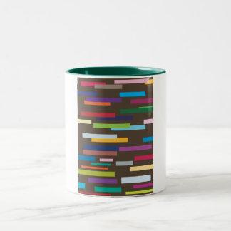 Stripes of Colour Mug