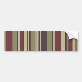 Stripes: Phoenix Color Scheme: Bumper Stickers