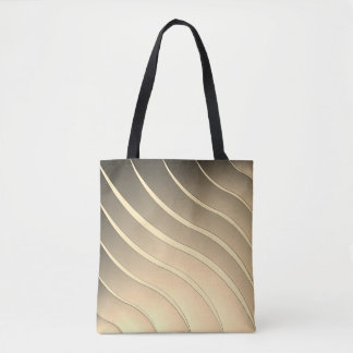 Stripes Wave Tote Bag