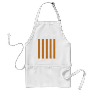 Stripes - White and Ochre Aprons
