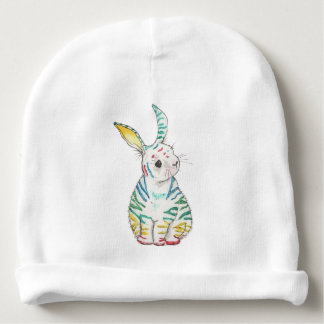 Stripy Rabbit Baby Hat Baby Beanie