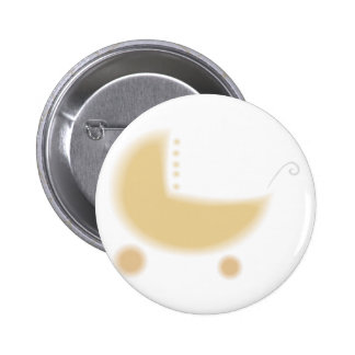 Stroller Baby Shower Party Pack 6 Cm Round Badge