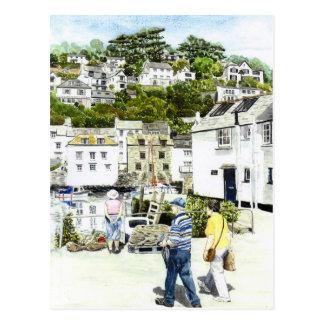 'Strolling' Postcard